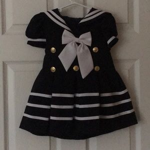 LA Sun Inc. Baby Sailor's Dress